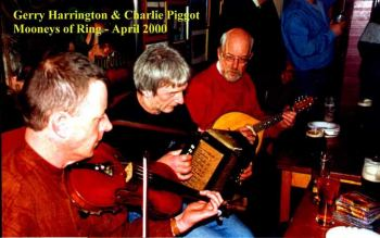 Charlie Piggot and Gerry Harrington; photo by Sean Laffey