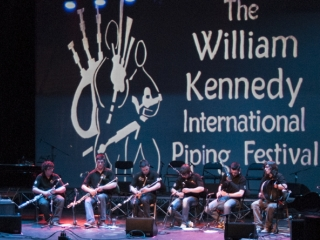 William Kennedy Piping Festival 2013